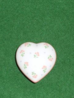 Crowning Touch Collection Heart Shaped Trinket Box