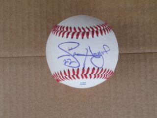 Jason Heyward Autograph Baseball Braves Super Star
