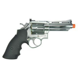 HFC 4inch 357 Magnum Revolver Green Gas Propane Airsoft Pistol Gun
