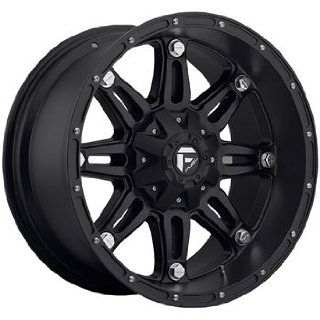 Fuel Hostage 20x10 Black Wheel / Rim 5x150 with a  12mm Offset and a