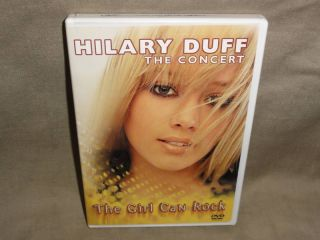 Hilary Duff The Concert DVD New 786936245035