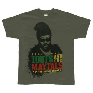 Toots And The Maytals   Thats My Number T Shirt: Clothing