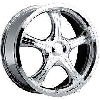 Platinum Attitude 14x6 Chrome Wheel / Rim 5x4.25 & 5x4.5 with a 35mm