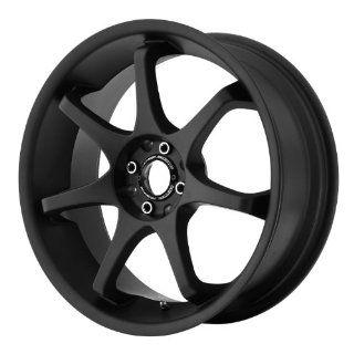 Motegi MR125 16x7 Black Wheel / Rim 4x100 & 4x4.25 with a 40mm Offset