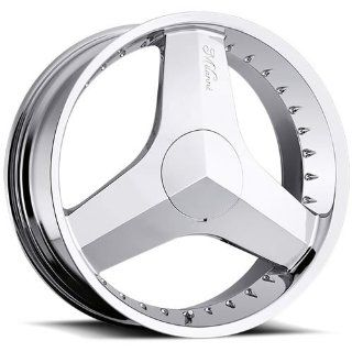Milanni Blade 20 Chrome Wheel / Rim 5x4.25 & 5x4.5 with a 38mm Offset
