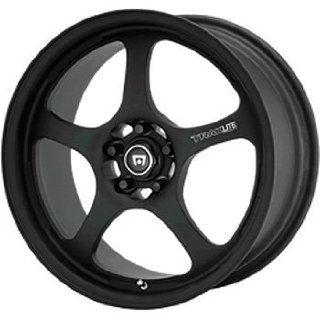 Motegi Traklite 15x7 Black Wheel / Rim 4x100 with a 35mm Offset and a