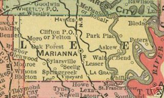History Genealogy LEE COUNTY AR Marianna Arkansas