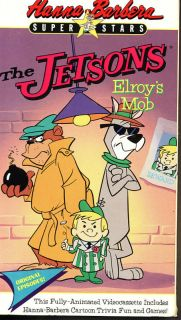 Hanna Barbera Video The Jetsons Elroys Mob VHS 1990 014764121635