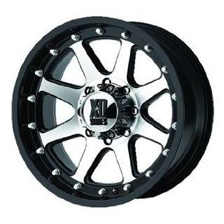 XD XD798 17x9 Machined Black Wheel / Rim 8x180 with a 18mm Offset and