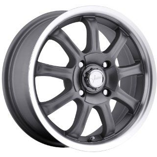 Vision 9X 16 Gunmetal Wheel / Rim 5x100 & 5x4.5 with a +40 mm Offset