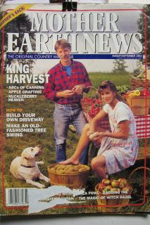 Mother Earth News August September 1992 King Harvest