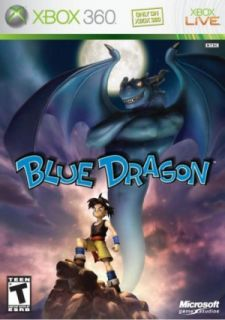 Factory SEALED Blue Dragon Xbox 360 Role Playing Game