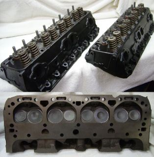 High Performance Small Block Chevy Cylinder Heads