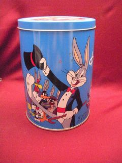 Brachs Happy Birthday Bugs Jelly Bean Tin Can 1989 Bugs Bunny 50th