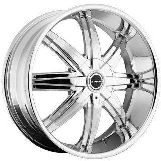 Strada Magia 22 Chrome Wheel / Rim 5x112 & 5x115 with a 40mm Offset