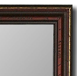Mahogany Wall Mirror Made USA Rich Home Decor Hitchcock Butterfield