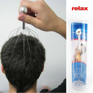 New Head Massager Neck Massage Octopus Scalp Stress Relax Spa Therapy
