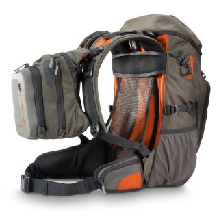 Simms Headwaters Day Pack Coal Fly Fishing Backpack