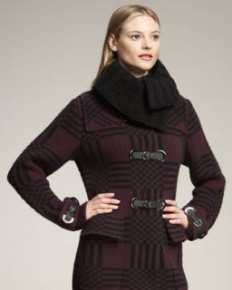 Pringle Hand Knit Wool Cashmere Collar