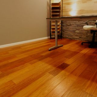 Natural Brazilian Cherry Hardwood Floor Wood Flooring Sample