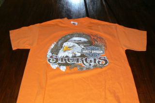Orang T Shirt SS 2008 Sturgis Black Hills Rally Hill City SD