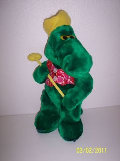 Alligator Golfer Stuffed Animal Plush Toy Doll Golf Gator Cute Soft