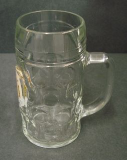 HOFMEISTER LAGER PUB HOME BAR HALF PINT GLASS HANDLE USED C265