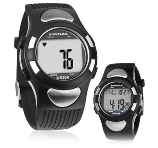 HEART RATE MONITOR WATCH _Quick Touch Timer & Water Resistance