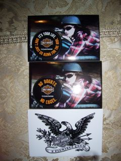 HARLEY DAVIDSON STICKERS DECALS in Collectibles