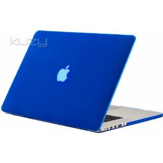 Kuzy   BLUE Rubberized Hard Case Cover for Apple MacBook