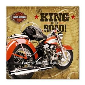 HARLEY DAVIDSON MOTORCYCLES Party Supply Pack Kit Set for 16