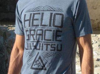 helio gracie stone t shirt mma bjj jiu jitsu
