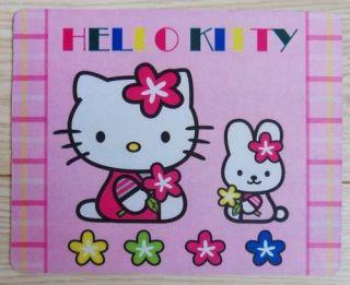 Brand New Cartoon Hello Kitty Mouse Pad Mat Xmas Gift