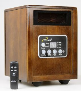 Infrared Space Quartz Heater 1500W by Dr Heater 2X More Heat