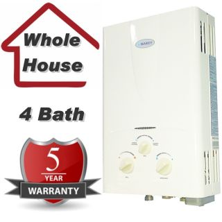Tankless Water Heater Propane Gas Instant Hot Water on Demand 4 3 GPM