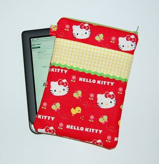 Hello Kitty Springtime Nook Color Kindle Case Cover