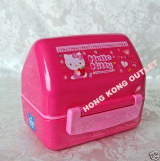 Hello Kitty Bento Lunch Box Case Rice Mold Mould L30