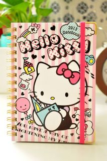 2012.10 ~ 2013 Hello Kitty Schedule Book Monthly Planner Agenda Diary