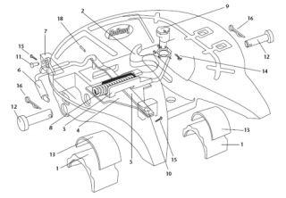 4000572 Holland Simplex II Left Hand Release Fifth Wheel Lock Kit