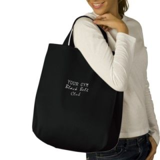 Martial Arts Black Belt Club Canvas Tote Bag