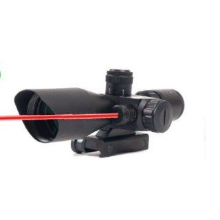 Dual Red and Green P4 Mil Dot Rangefinder Reticle Hunting AR15 AR 15