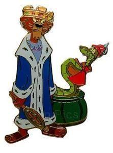 Disney Prince John & Sir Hiss 35th Anniversary Robin Hood LE 100 Pin