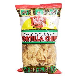 Better Made white corn tortilla chips, 13 oz. bag: Grocery