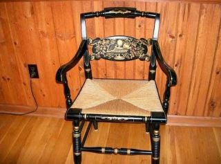 Hitchcock Turtle Back Arm Chair in Excellent Condition Pick Up Only