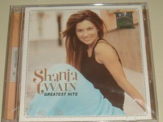 Shania Twain Greatest Hits Asia Edition CD SEALED RARE