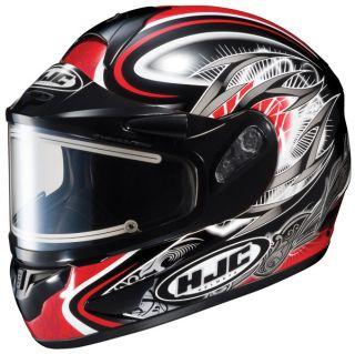 HJC CL 16 Hellion Snow Helmet with Electric Shield MC 1 SM