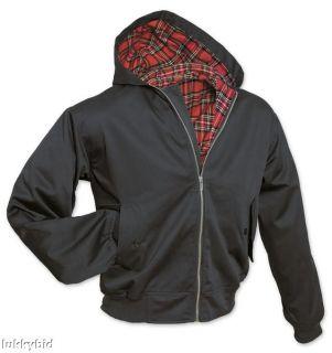 Vintage Retro Hoody Hooded Harrington Jacket Mod 3XL 4XL