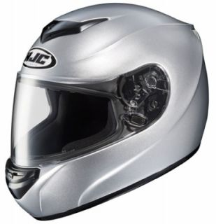 HJC CS R2 Full Face Motorcycle Helmet Silver Medium M 208 573