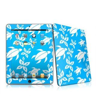 Tropic Honu Design Protective Decal Skin Sticker for Apple