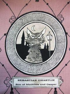 Alexander Henry A Ghastlie Ghastly Gallery Spooky Halloween Fabric